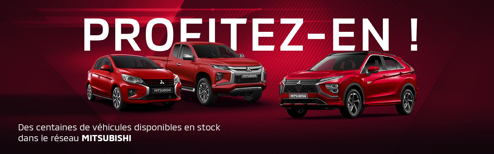 Découvrez la gamme Mitsubishi Motors